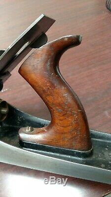 Stanley Bedrock 605 1/5 Plane Vintage Hand 5 1/2 Corrugated Hand Woodworking