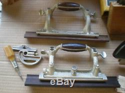 Stanley NO. 55 Combination Wood Working Molding Plane in ORIGINAL Box
