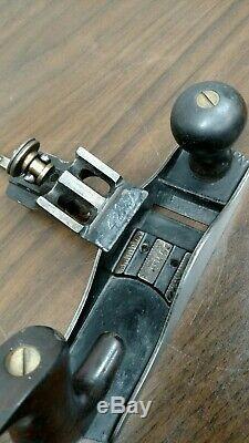 Stanley No 2 #2 Hand Plane Vintage Woodworking