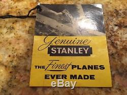 Stanley No. 2, extra long 8 smooth woodworking plane(original box)