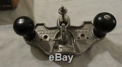 Stanley No 71 Router plane hand router vintage woodworking tool plane + 3 cutter