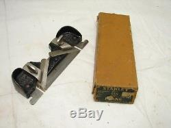 Stanley No. 79 Side Rabbet Plane withSweetheart Box Woodworking Tool Minty