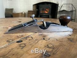 Stanley No. 97 Type 2 (1907-1909) Woodworking Chisel Plane 99.9 Japanning