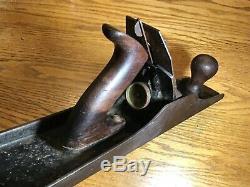 Stanley Plane Bed Rock 607 Corrugated Bottom Wood Working Tool Vintage Carpenter