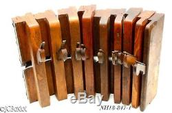 Stepped side bead molding plane set WOOD WOODEN MARPLES COX others woodworking