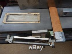 Swiss Made Inca Wood Jointer With Extras Woodworking Tool