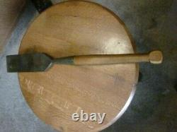 The James Swan Co Extra Warranted 3 Carpenter, Woodworking, Timber Slick Chisel