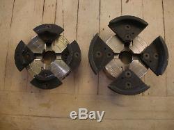 Two (2) Oneway Talon Chucks with Inserts woodturning Wood Lathe Tools