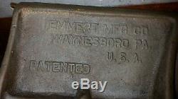VINTAGE / ANTIQUE EMMERT PATTERN MAKERS VISE 18x7 WOODWORKING WithSWING BRACKET