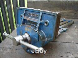 VINTAGE RECORD No 52.1/2E WOODWORKING BENCH VICE