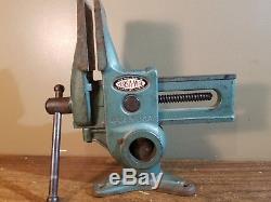 Versa-Vise Will Burt Co. 3 5/8 Gunsmith Wood Working Blacksmith Farrier Ex Cond