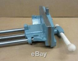 Vintage 10 Columbian 10R-2A Woodworking Under Bench Mount Vise USA 10 Jaws