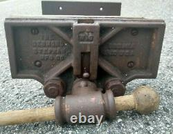 Vintage 10 Wood Working Bench Vise with Quick Release W10 Desmond Stephan MFG CO