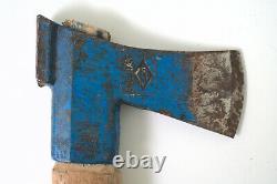 Vintage 2.2 lb Billnäs Finnish Model 1300 Woodworking Bushcrafting Carving Axe