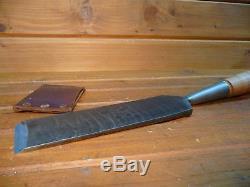 Vintage 3 GREENLEE Slick Woodworking Timber Framing Log Cabin Chisel Tool