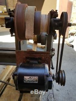 Vintage American Wood Working Machinery Co. Wood lathe 12 patternmakers