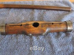 Vintage Antique Nautical 20 Oak Shipwrights Caulking Mallet Woodworking Tool