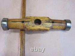 Vintage Antique Nautical Lignum Vitae Shipwrights Caulking Mallet Woodworking
