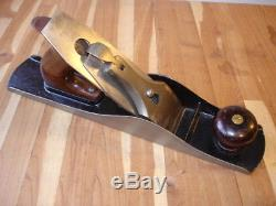 Vintage Antique Stanley No 5 Pre Lateral Plane Type 4 Woodworking Tool USA Made