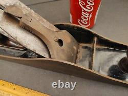 Vintage Bailey No. 8 Carpenter Plane 24 L 3 W Ribbed Bottom Wood Working Tool
