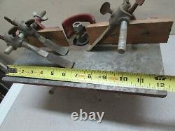 Vintage Belt Drive Woodworking Router Shaper Cast Iron Table Redford Specialties