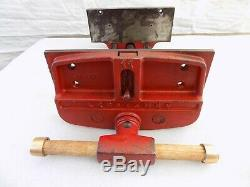 Vintage CRAFTSMAN 10'' Woodworking Vise Quick Release Under Bench Mount 35 Lbs