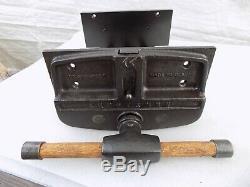 Vintage CRAFTSMAN 10'' Woodworking Vise Quick Release Under Bench Mount 35 Lbs
