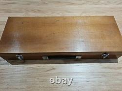 Vintage Carpentry/Woodworking Tools in Case with Brades Hammer & Stanley Yankee