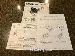 Vintage Craftsman 10 10r-2a Quick Release Bench Woodworking Vise