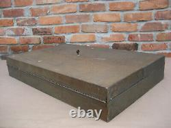 Vintage Craftsman Metal Tool Storage Wall Cabinet Woodworking Tools Box 1950's