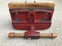 Vintage Craftsman Woodworkers Vise 391-5195 10 Wide Jaw Quick Release