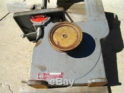 Vintage Delta Milwaukee Rockwell Homecraft 10 Band Saw 28-110 Woodwork Shop Tool