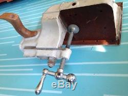 Vintage Delta Rockwell Ncs-352 Unisaw Table Saw Tenon Jig Fixture Woodworking