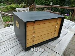 Vintage Engineers/fine Woodworking Tool Box/chest