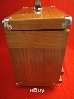 Vintage Gerstner 3-Drawer Oak Machinist Woodworker Tool Chest