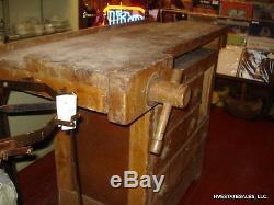 Vintage Hammacher Schlemmer Work bench (Woodworking, Craft, Retail, Desk)