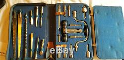 Vintage Hermes Woodworking And Tool Set In Original Case (complete)
