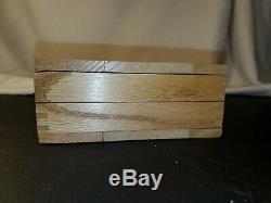 Vintage IRWIN AUGER BIT SET Wooden Box 13pcs CARPENTER WOODWORKING Manual