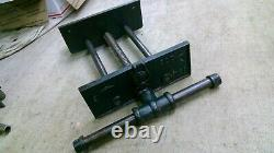 Vintage Littco 10 Jaw Under Bench Wood Vise QUICK RELEASE- Woodworkers Vise