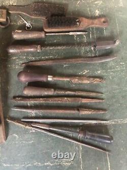 Vintage Lot of Woodworking Hand Planes for parts or restoration, farm finds