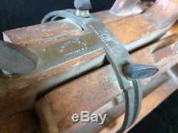 Vintage M. B. Tidey 1854 Double Beveling Plane Rarest 19th c. Woodworking Tool