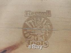 Vintage Marples Sheffield 6 pc Woodworking Blue Chip Chisel Set with Original Box