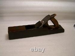 Vintage Nautical Rosewood Shipwrights Woodworking Plane Tool Buck Bros Cutter