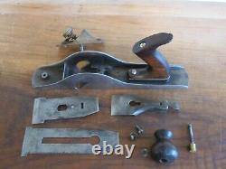 Vintage Pre-Lateral Stanley No. 10 TYPE 2 (1869-1872) Carriage Woodworking Plane
