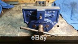 Vintage Record 52 1/2 ED, 9 in. Woodworking Vise, Made in England