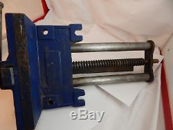 Vintage Record 52d Quick Release Wood Vise Made In England Woodworker Vice