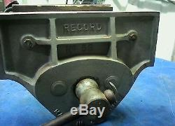 Vintage Record No 53 Woodworkers Woodworking Wood Vice Vise Under Bench England