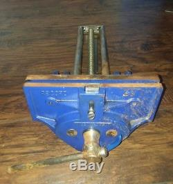 Vintage Record No 53 Quick Release Woodworking Vice Vise Made In England
