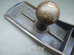 Vintage Record no 08 jointer plane old woodworking tool