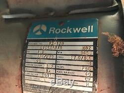 Vintage Rockwell Delta 52-611 Disc 12 Belt Sander 6 Machine & Sandpaper Tools